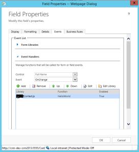 Field Properties